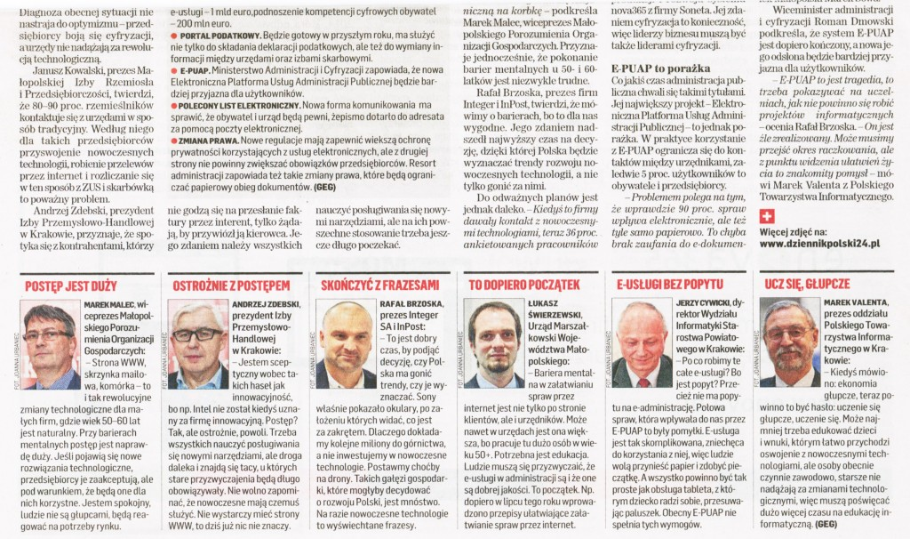 Forum-3_Dziennik Polski  z31.10.2014